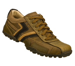 Brown Skechers Relaxed Fit: Talus - Valey