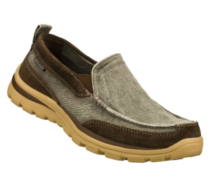 Brown Skechers Relaxed Fit Superior - Melvin