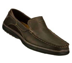 Brown Skechers Relaxed Fit: Arcos - Harlen