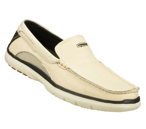 Natural Skechers Relaxed Fit: Arcos - Harlen