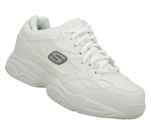 White Skechers Work: Felix - Doozer