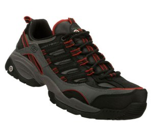 Red Black Skechers Work: Sparta S R - Command