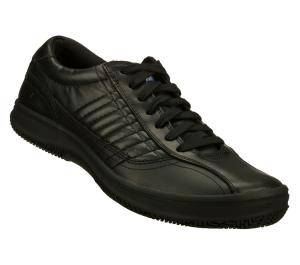 Black Skechers Work Relaxed Fit: Piers SR