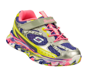 MultiPurple Skechers Synergy - Kickety Kick