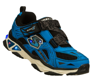 BlackBlue Skechers S Lights: Galvanized - Pharos