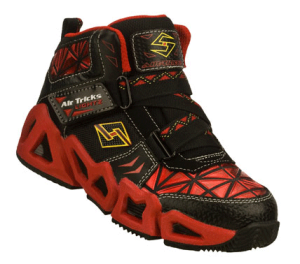 RedBlack Skechers Air-Mazing Kid: Airionic