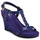 A2 by Aerosoles Rose Plush Dark Blue Patent