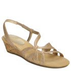 A2 by Aerosoles Chewniper Gold Metallic