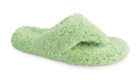 New Lime Acorn SHAGGY SPA THONG