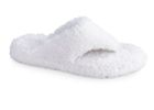 White Acorn SHAGGY SPA THONG