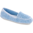 Cloud Blue Acorn Cotton Terry Moc