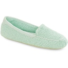 Seafoam Acorn Cotton Terry Moc