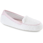 White Acorn Cotton Terry Moc
