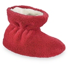 Scarlet Acorn Spa Terry Bootie