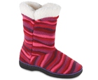 Wavy Fuschia Acorn Peek-A-Boot