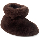 Brown Bear Acorn Tex Easy Bootie