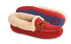 Winter Berry Acorn Sheepskin Moxie Moc