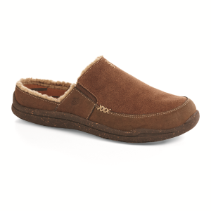 Chocolate Suede Acorn Wearabout Slide