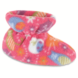 Fat Cat Pink Acorn Easy Bootie