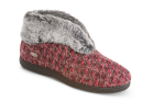 Berry Check Acorn Chinchilla Bootie II