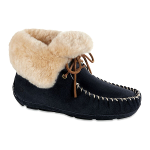 Acorn Sheepskin Moxie Bootie in Black