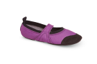 Grape Acorn Tech Travel Mary Jane Slippers