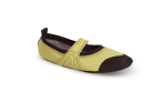 Lime Acorn Tech Travel Mary Jane Slippers