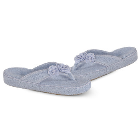 Cloud Blue Acorn Cotton Terry Thong