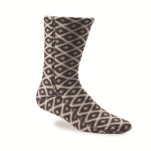 Black/Cream Southwest Acorn Versafit Sock