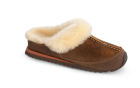 Timer Crackle Acorn Sheepskin Sport Mule