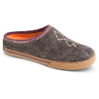 Charcoal Heather Acorn Crossroad Mule