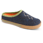 Cobalt Heather Acorn Crossroad Mule