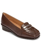 Aerosoles Medley Dark Brown Croco