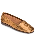 Aerosoles Mr Softee Gold Leather
