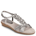 Aerosoles Atlantic Silver Leather