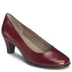 Aerosoles Red Hot Dark Red Patent
