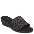 Aerosoles Badminton Leopard Black