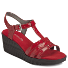 Aerosoles Jitterbog Red Faux Croco