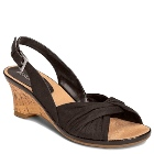 Aerosoles Zenthusiasm Black Fabric