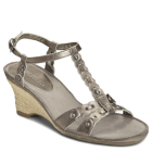 Aerosoles Zenacious Dark Silver Leather