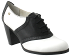 Bass Eloise White/Black