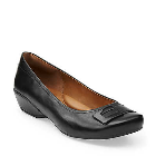 Clarks Concert Choir Black Leather