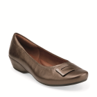 Clarks Concert Choir Brown Metallic