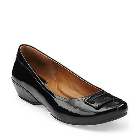 Clarks Concert Choir Black Patent