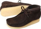 Clarks Wallabee Boot Brown Suede