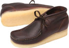 Clarks Wallabee Boot Brown