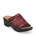 Clarks Lexi Bark Red