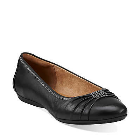Clarks Aldea Abode Black Leather