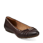 Clarks Aldea Abode Dark Brown Leather