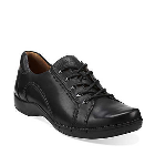 Clarks Un.Birch Black Leather